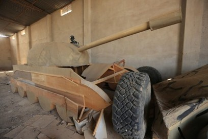 The Islamic State is now deploying tanks made of wood | About Geopolitics | Scoop.it