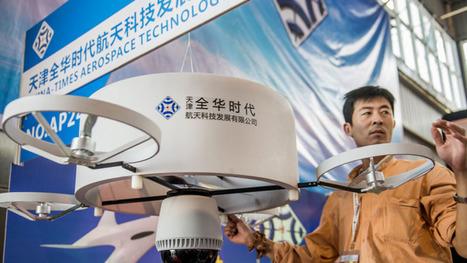 La Chine dévoile un rayon laser anti-drones | Une nouvelle civilisation de Robots | Scoop.it