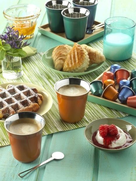 Nespresso propose un petit déjeuner fort de café - Journal des femmes | Concurrence | Scoop.it