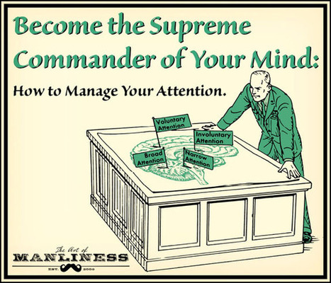 Become the Supreme Commander of Your Mind: How to Effectively Manage Your Attention | NO BS Podcast | Scoop.it