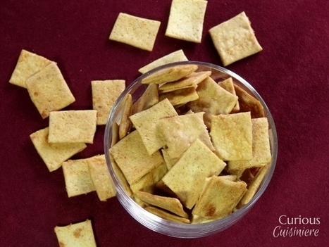 Sourdough Cheese Crackers #SundaySupper - Curious Cuisiniere | Fermenting | Scoop.it