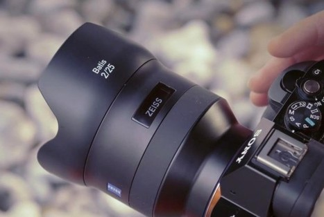 Los nuevos objetivos Zeiss Batis llegan con un panel OLED integrado | ISO102400 | Scoop.it