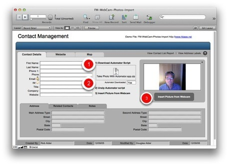 How to Automate Webcam Photo Capture Within Filemaker Pro (Mac) | Filemaker Info | Scoop.it