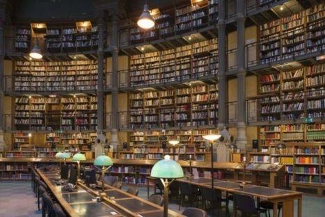 Adopte une lampe à la Bibliothèque nationale de France | Revue de presse : École nationale des chartes | Scoop.it