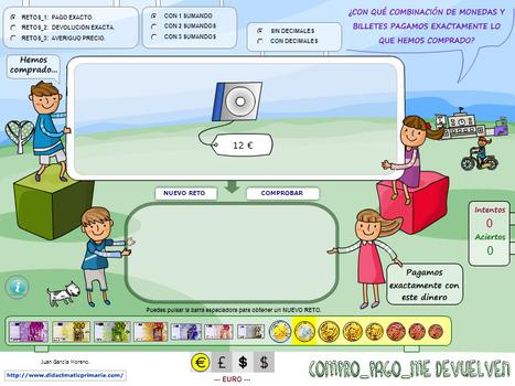 didactmaticprimaria: Cálculo mental contextualizado para todos los niveles de Primaria (Situaciones de compra) | Biblioteca Virtual | Scoop.it