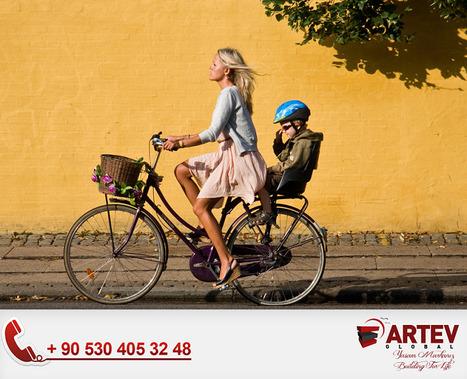 Bike Woman Healthy Cycle | Artev Global | Scoop.it