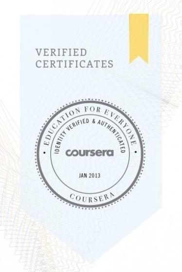 Coursera comienza a ofrecer certificados oficiales de sus cursos | Las TIC y la Educación | Scoop.it