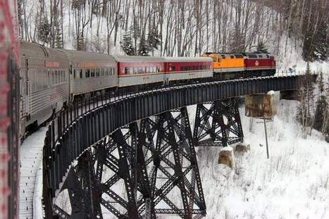 The Michigan Traveler: Good-bye, Agawa Canyon Snow Train | Local Economy in Action | Scoop.it