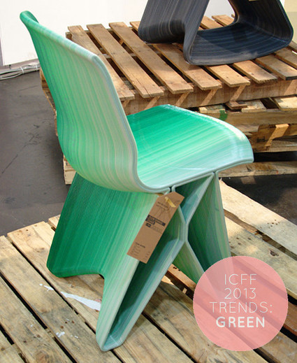 ICFF 2013 Trends: Green   Design*Sponge   Tendances déco - interior trends   Scoop.it