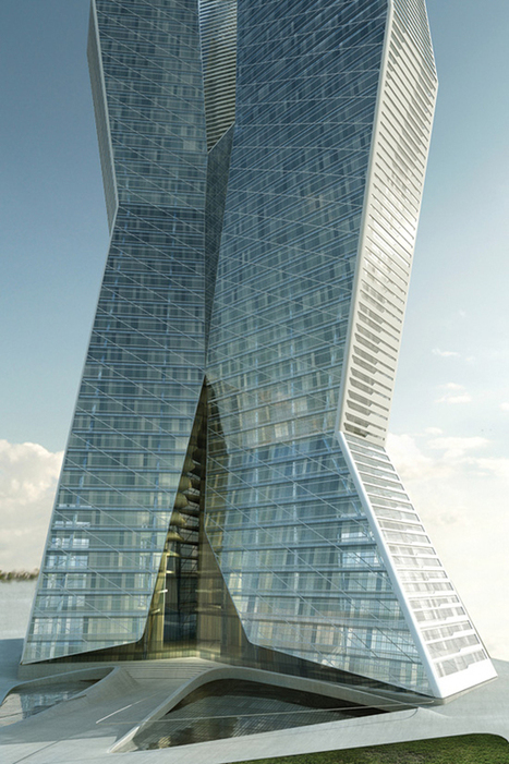Millennium Tower Business Center (WBCB) /  Asymptote Architecture | What Surrounds You | Scoop.it