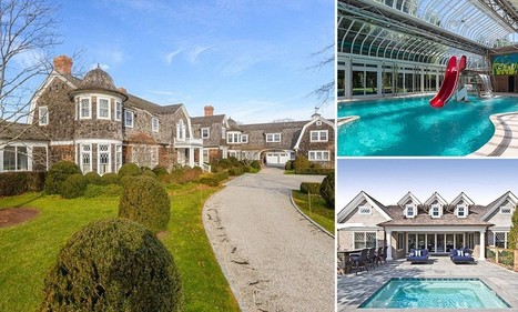 Inside the luxurious Hamptons holiday mansions that are up for rent for ... - Daily Mail | RentalBuzz: Holiday rentals news and marketing | Scoop.it