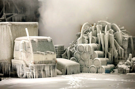 Chicago's Freezing Fire | Merveilles - Marvels | Scoop.it