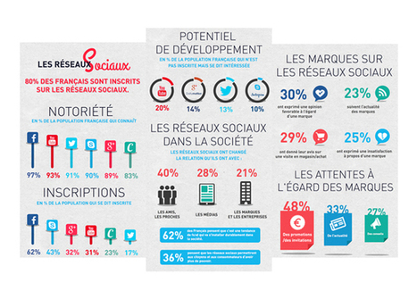 Culture RP » Etudes: les réseaux sociaux en France par Aura Mundi | RP digitales | Scoop.it