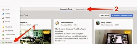 GPlus How2Girl: How To Start A Private Hangout In A G+ Community | Competitive Edge | Scoop.it