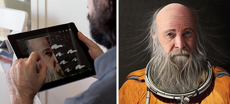 Artist Fingerpaints Surreal Pictures On His iPad | 16s3d: Bestioles, opinions & pétitions | Scoop.it