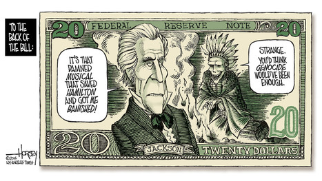 As the $20 bill gets a new face, Andrew Jackson's sins are recalled | digital divide information | Scoop.it