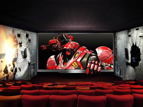 Widescreen, immersive and no funny glasses: Is this the future of 3D cinema? | WE SPEAK ENGLISH | Scoop.it