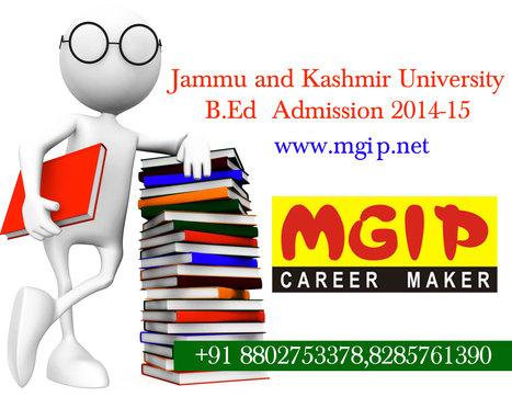 Jammu and Kashmir University B.Ed 2014 | MDU B.Ed Admission Updates 2014-15 | Scoop.it