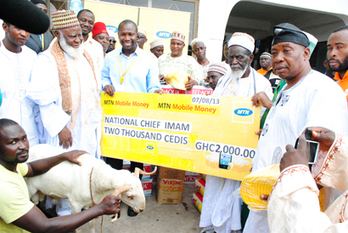 MTN Ghana supports Eidul Fitr celebration - Biztech Africa | Education Development and Community Transformation | Scoop.it