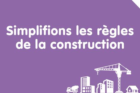 50 mesures de simplification pour la construction - Ministère du Logement, de l'Égalité des territoires et de la Ruralité | Architecture Bâtiment et Réglementation Française | Scoop.it