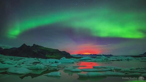 Watch a massive solar storm charge up the aurora borealis   Oceans and Wildlife   Scoop.it