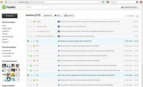 #FanMix : Administrar varias cuentas de #Facebook, #Twitter, #LinkedIn -  #RedesSociales   Management & Leadership   Scoop.it