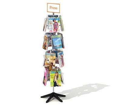 Kiosque tournant magazine 3D | 3D Library | Scoop.it
