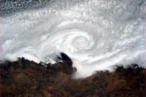 Twitter / BethanyGeog : Cloud vortex spinning its wheels ... | SIG, Cartografía y Geografía | Scoop.it