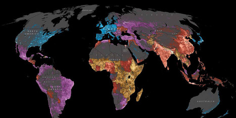 8 Maps That Will Change the Way You Look at Africa | Human Geography | Scoop.it