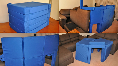 Magnetic Cushions Let You Easily Build a Structurally Sound Pillow Fort | Daily Magazine | Scoop.it