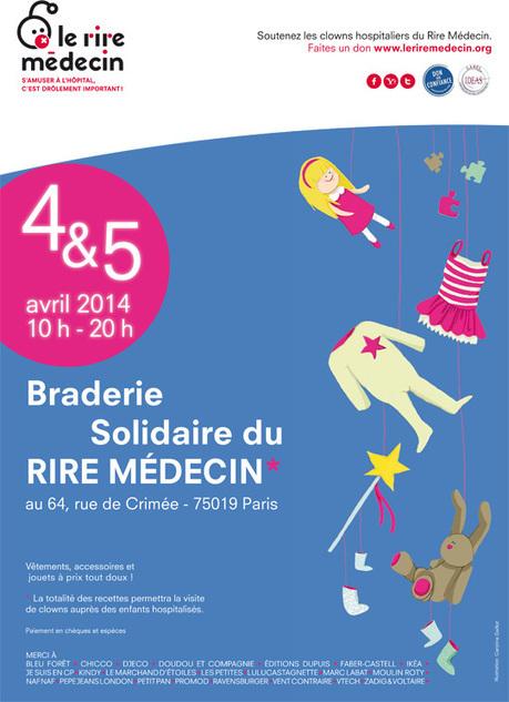 Braderie solidaire du Rire Médecin : soutenez les clowns hospitaliers   Paris Est Villages   Clowns à l'hôpital   Scoop.it