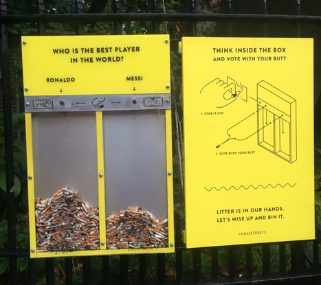 Some Clever Chap Came Up With An Ingenious Idea To Stop People Littering | Ville créative | Scoop.it