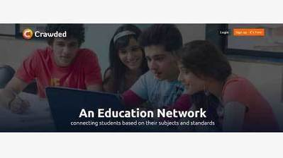 Crawded - Social Learning Network to Connect School Students | EdTechReview | Scoop.it