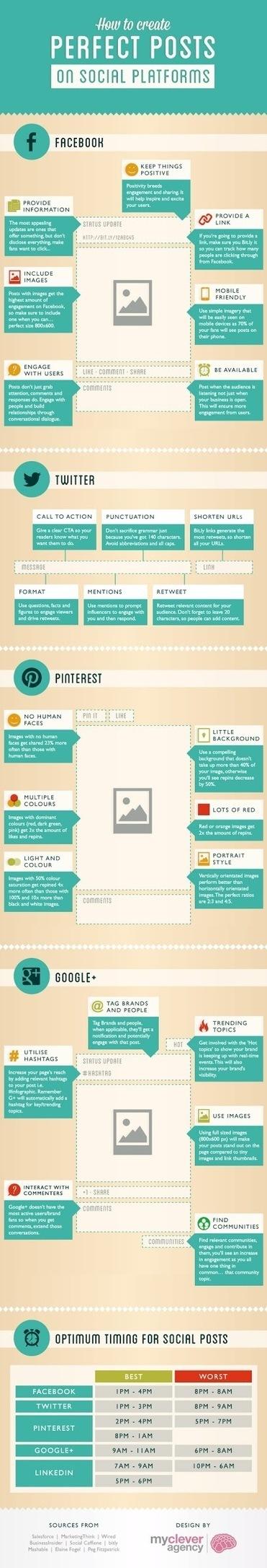 Comment créer le post parfait sur les réseaux sociaux ? | Geeks | Scoop.it