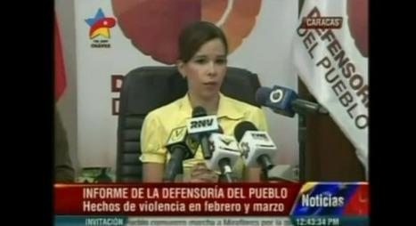 """[VIDEO] ¡CRIMINAL! Según defensora del Pueblo: """"La tortura tiene sentido para obtener confesión"""" (¿todavía quedan dudas?)   Venezuela Despierta #LaSalida   Scoop.it"""