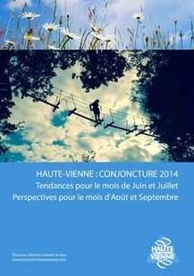 Conjoncture estivale 2014 en #Haute-Vienne; début de saison en demi-teinte... | Haute-Vienne Tourisme | Scoop.it