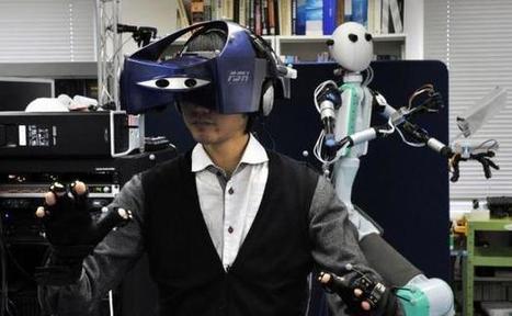 Au Japon, un robot téléguidé sur le modèle d'Avatar | reconnaissance gestuelle | Scoop.it