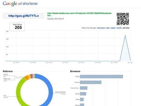 Google URL Shortener : des statistiques plus complètes via FeedBurner   RSS Circus : veille stratégique, intelligence économique, curation, publication, Web 2.0   Scoop.it