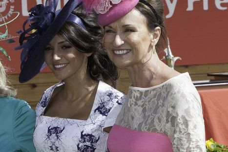 Michelle Keegan tops the style stakes at the Irish Derby - Irish Mirror | horse-celebrities | Scoop.it