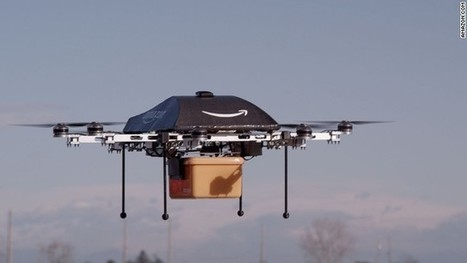 Amazon drone delivery proposal now patented | Vloasis sci-tech | Scoop.it
