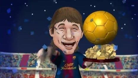 La 'gala' de los Barça Toons también premia a Messi e Iniesta | BALON D'OR 2012 | Scoop.it