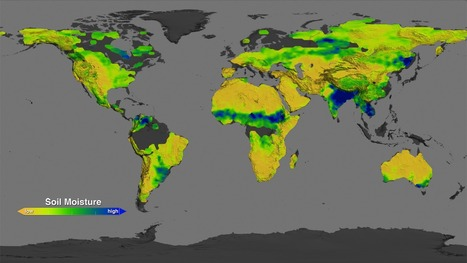 How wet is Earth's soil? NASA's Aquarius Returns Global Maps of Soil Moisture | Amazing Science | Scoop.it