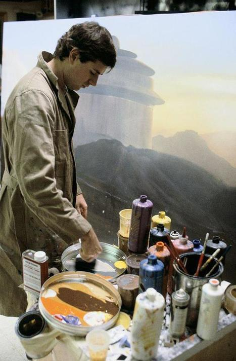 How the Original Star Wars Trilogy Fooled Everyone With Matte Paintings | 3D animation transmedia | Scoop.it