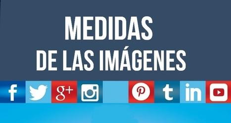 INFOGRAFÍA: Los tamaños de las imágenes para las redes sociales | Digital Marketing | Scoop.it