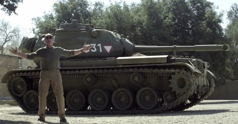 Who Wants to Crush Things in a Tank With Arnold Schwarzenegger? [VIDEO]   Integrated Marketing Communications   Scoop.it
