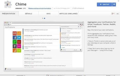 Chime. Toutes les notifications dans votre navigateur - Les Outils Google | Gestion de l'information | Scoop.it