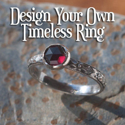 DESIGN Your Own RING antique inspired rose cut gemstone ring, Timeless Sterling Silver Ring, custom made ring | Vintage-Antique Rings of the World | Scoop.it