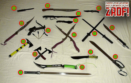 Choose YOUR ZADF Weapons! | Zombie Defense Force | Scoop.it