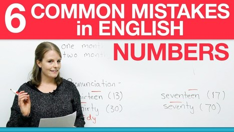 How to write numbers in English – 6 common mistakes · engVid | english lessons | Scoop.it