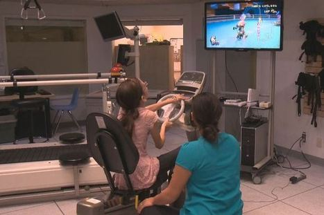 Exercise bike, Mario Kart combine to keep children motivated during therapy sessions | Geek Therapy | Scoop.it